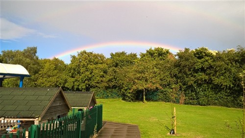 Messy Church rainbow
