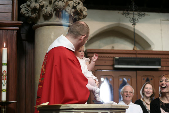 Baptism of Daisy Cobb