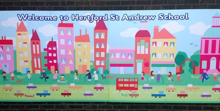 StAndrewSchoolSign
