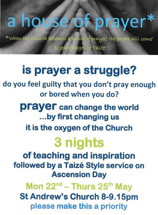 Hertford St Andrew : House of Prayer