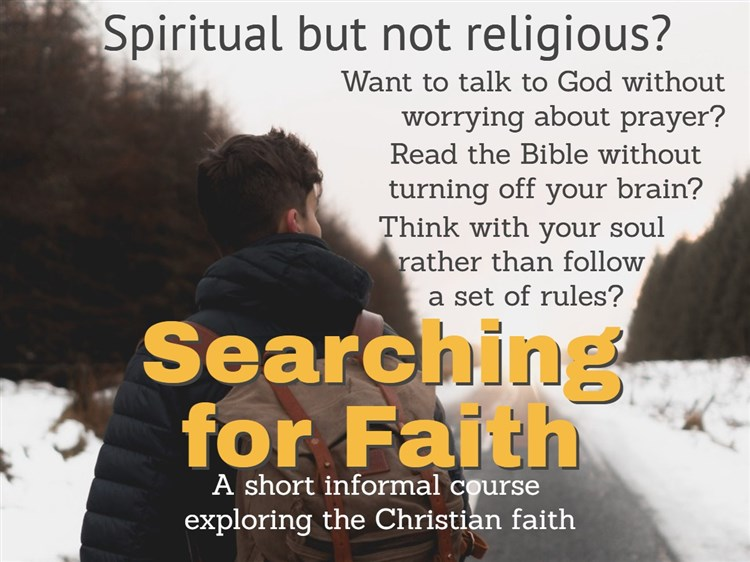 Searching for Faith Facebook p